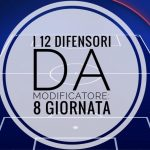 I 12 difensori da modificatore: 8 giornata